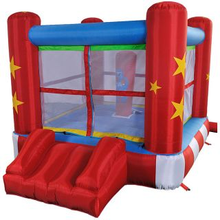 Small Inflatable Bouncer Bounce House w Slide Blower Repair Kit