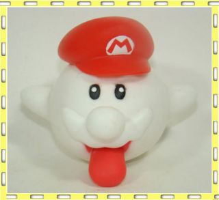 Super Mario Brothers Action Figure King Boo Ghost 6cm