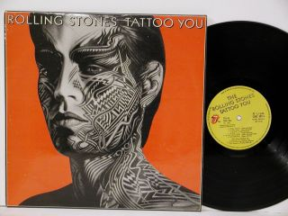 The Rolling Stones Tattoo You RARE 1981 India Pressing Near Mint Vinyl
