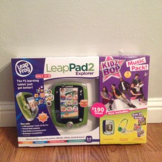LEAP FROG LeapPad 2 Explorer Kidz Bop Music Pack Kids Gel Skin