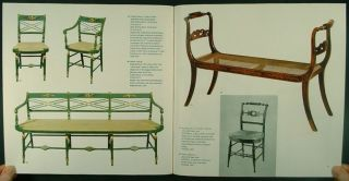BOSCOBEL COLLECTION  AMERICAN ANTIQUE COLONIAL FEDERAL FURNITURE