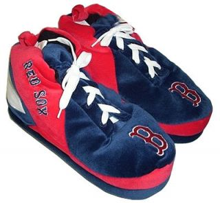 boston red sox baseball sneaker slippers sz l the boston red sox