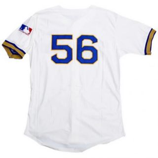 Jim Bouton #56 Seattle Pilots Throwback NWT Jersey M/L/XL/2XL