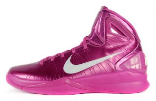 Nike Hyperdunk 2010 Sz 12 5 Mens Basketball Shoes Breast Cancer Pink