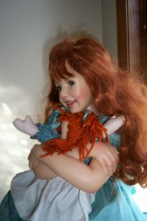 Jane Bradbury Resin Doll Raggedy Ann