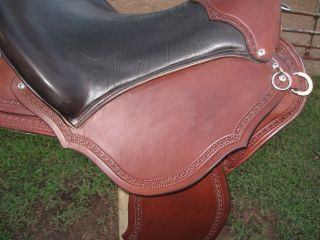 Used 19 Buena Vista Western Trail Endurance Saddle