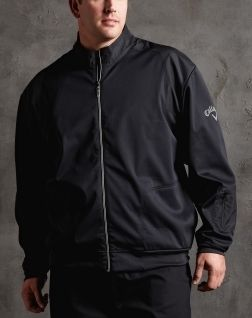 Callaway Golf Big Men Black Bonded Jacket Coat Brand New $130 Value