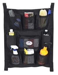 Trailer Door Caddies horse tack brush caddy