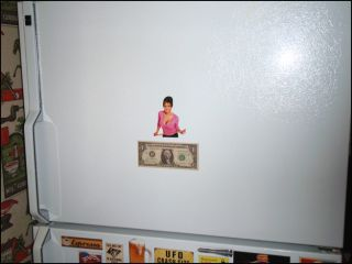 Fun Refrigerator Magnet SARAH PALIN Specialty Die Cut Super Sexy Funny