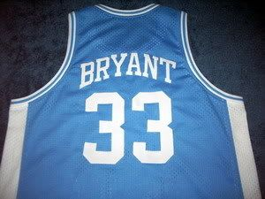 Kobe Bryant Lower Merion High School Jersey Blue New Any Size AXB