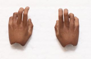 Hot Toys Michael Jackson MJ Thriller 1 6 Hand Hands X2 Palms New 3