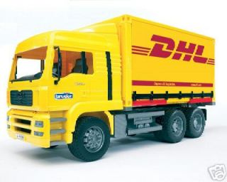 Bruder Toys Man DHL Container Truck New Pro Series