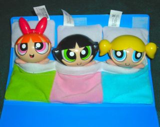 Powerpuff Girls Blossom Bubbles Buttercup 3 5 Sleep Time Toy Plush