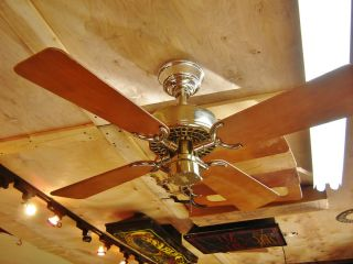 Vintage 36 Hunter Original Ceiling Fan Made in USA
