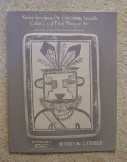 Butterfield Native American Pre Columbian Tribal Art