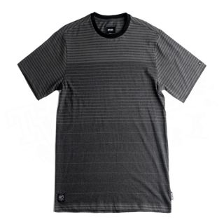 New 2012 Rip Curl Mens Buena Vista Crew Neck T Shirt Black Size x