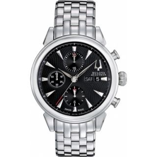 Bulova Accutron 63C106 Mens Gemini Chronograph Watch