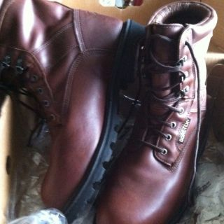 "Rocky 8"" Steel Toe Ranger Boot 11 1 2W"