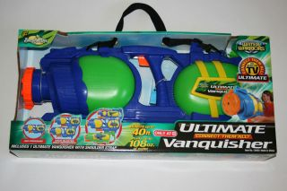 NEW ULTIMATE VANQUISHER AIR BLASTER WATER GUN FROM BUZZ BEE TOYS