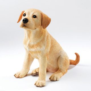 Country Artists CA06680 Yellow Lab Labrador Retriever Puppy Dog