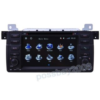 BMW 3 E46 Car GPS Navigation System DVD Player