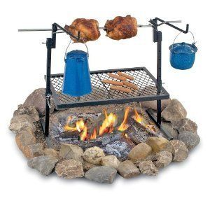 New Rotisserie Heavy Duty Grill Outdoor Camping Cooking