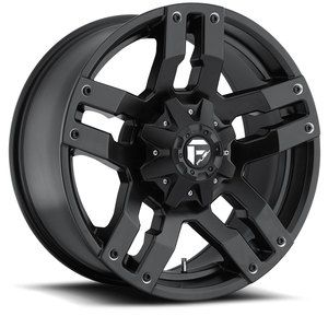 Pump Black Wheels Rims 6x5 5 6x135 6 Lug Chevy GM Ford Truck
