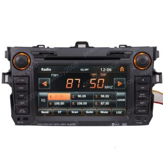 Car GPS Navigation System DVD Player for Toyota Corolla