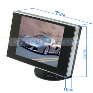 Input 3.5 Digital TFT LCD Monitor for Security Car Vehicle Camera