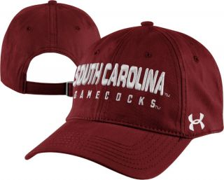 South Carolina Gamecocks Cardinal Under Armour Charged Cotton