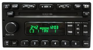 Escape Mercury Mariner Radio 6 Disc Changer CD Player SAT