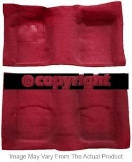 New Rear Nifty Products Carpet Kit Dark red Chevy S10 Pickup Chevrolet