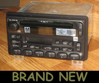 New 1998 2003 Ford CD  Tape Cassette Player Radio Explorer