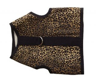 New Kitty Holster Cat Harness Extra Large Leopard Print