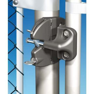with External Access for Chain Link Fence Round Post Safety Gate Lock