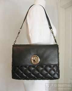NWT KATE SPADE Gold Coast Charlize Shoulder Bag Bittersweet Dark brown