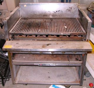 Pride Commercial Gas Grill, CSRB6, Charbroiler, Restaurant, Barbeque