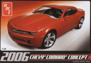 AMT 1 25 2006 Chevy Camaro Concept Car Model Kit 631