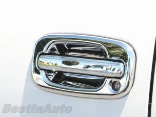 Chrome Door Handle Cover Set Chevy Silverado 1500 HD