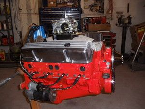 Complete Chevy Engine Motor SBC 350 Hot Street Rat Rod Camaro Chevelle