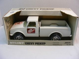 Nylint DR PEPPER Chevy Pickup Toy Truck in Box   Nice Condition