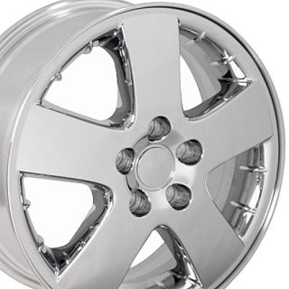 chrome pontiac montana wheels oem rims set upc 9449544 images