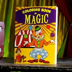 Book Sneaky Clown Limited Edition Magic Trick Kids Show