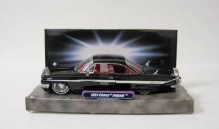 1961 Chevrolet Impala Diecast Model Car Jada Street Low 1 24 Scale