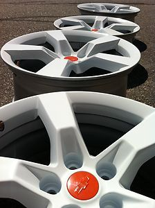 Chevrolet Chevy Camaro SS ZL 1 ZL1 Stock Factory 20 White Wheels Rims
