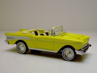MATCHBOX 57 CHEVY BEL AIR CLASSIC CAR RUBBER TIRE LIMITED EDITION