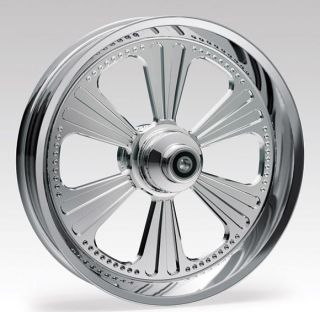 New Revtech Dominator Chrome 16 x 3 5 Custom Mag Wheel Harley Touring