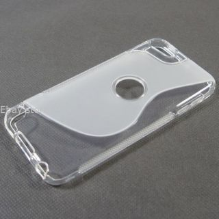 Clear Soft TPU Gel Case Cover Skin for iPod Touch 5 5g 5th 5GEN Free