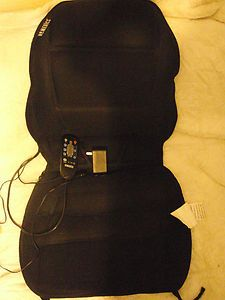 Homedics Heated Massage Chair Soft Cushion Never Used Remote