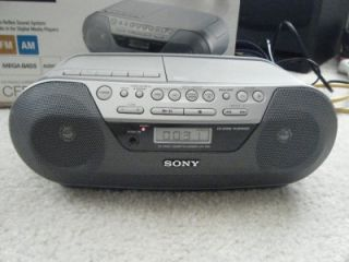 Sony CFDS05 CD Radio Cassette Player Recorder Boombox Stereo